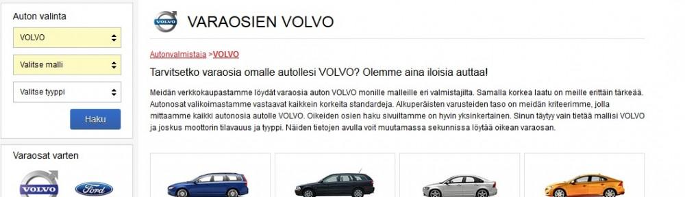 Autoihinvaraosat-VOLVO
